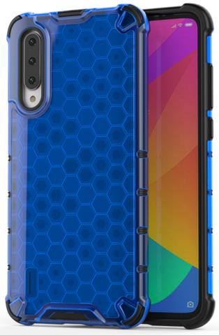 Чехол синего цвета для Xiaomi Mi A3 от Caseport, серия Honey