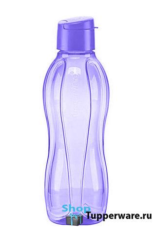 Бутылка Эко (750 мл) в сиреневом цвете