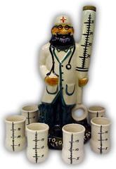 Штоф с рюмками «Доктор», 7 предметов, 0,7 л, фото 1