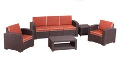 Комплект плетеной мебели Bica Rattan Premium 5