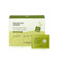 Очищающие пэды THE SAEM Healing Tea Garden Cleansing Cotton Pads 30шт.