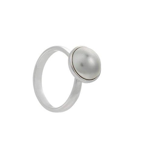 Кольцо Pearl K2005.1 BW/S