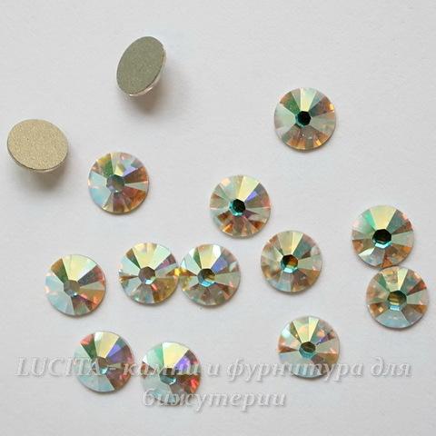 2028/2058 Стразы Сваровски холодной фиксации Crystal AB ss12 (3,0-3,2 мм), 10 штук ()