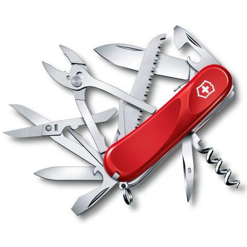 Нож перочинный Victorinox Evolution S52 (2.3953.SE) 85мм 20функций красный