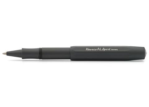 Ручка гелевая (роллер) AL Sport 0.7мм чёрный корпус