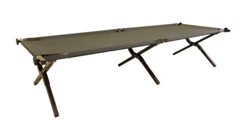 Раскладушка туристическая - походная кровать Митек Люкс