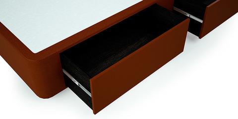 Ящик ЭЛИТ - ламинированная (цвет венге) березовая фанера, механизмы закрывания с доводчиками.