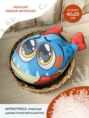 Подушка декоративная Gekoko «Безобидная Пиранья» 3