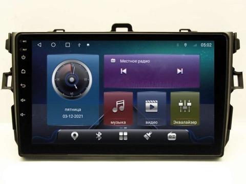 Магнитола для Toyota Corolla E150 (07-13) Android 10 4/64 IPS DSP 4G модель CB-2007TS10
