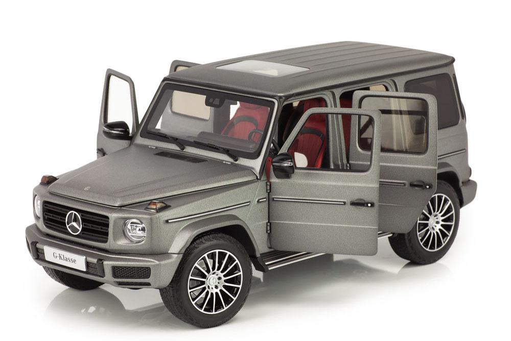 Коллекционная модель MERCEDES-BENZ W464 G-CLASS II NEW MODEL 2019 DESIGNO PLATINUM MAGNO GREY