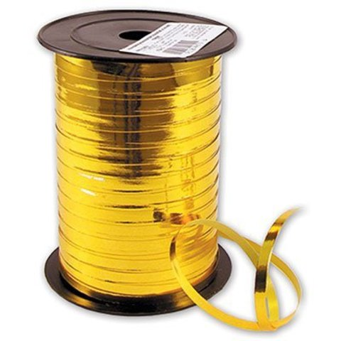 Лента металлизир 5ммХ250м золотая #2