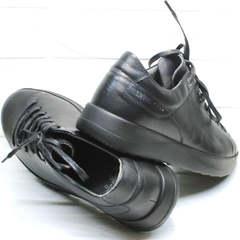 Спортивные туфли кеды мужские Ikoc 1725-1 Black.