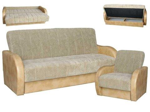 Диван +  кресло   (комплект № 9)