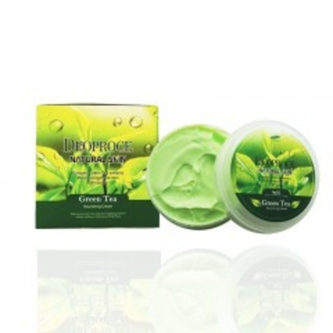 DEOPROCE NATURAL SKIN Крем для лица и тела с экстрактом зеленого чая DEOPROCE NATURAL SKIN GREENTEA NOURISHING CREAM 100g 100гр