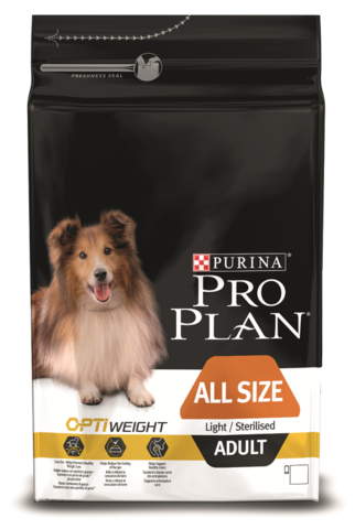 All Sizes Adult Light Sterilised - для склонных к избыточному весу или стерилизованных взрослых собак