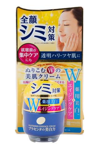 Meishoku Placenta Whitening Essence Cream Отбеливающий крем для лица