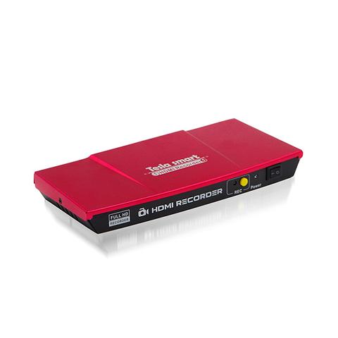 Видеозахват по HDMI recorder Tesla 1080P оцифровщик видео HDMI - USB внешнее устройство видеозахвата HDMI