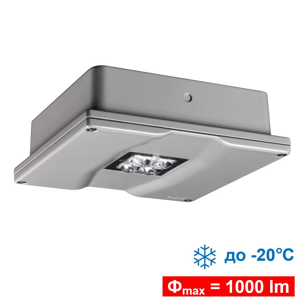 Промышленный светильник аварийного освещения помещений и зон повышенной опасности Pluraluce Extreme LED IP65 Beghelli - общий вид
