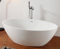 Акриловая ванна ABBER AB9249 175х100 см отдельностоящая