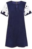 Бархатистое домашнее платье Le Chat