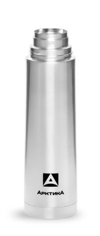 Термос Арктика (0,75 литра) с узким горлом классический, чехол