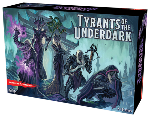 D&D - Tyrants of the Underdark Boardgame