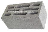 Блок керамзито-бетонный восьми щелевой
