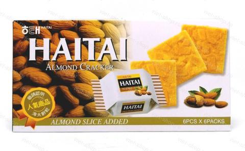 Крекер миндальный Haitai Almond Cracker, Корее, 133 гр.
