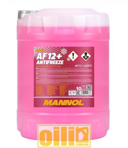 Mannol 4012 Antifreeze AF12+ -40°C Longlife 10л