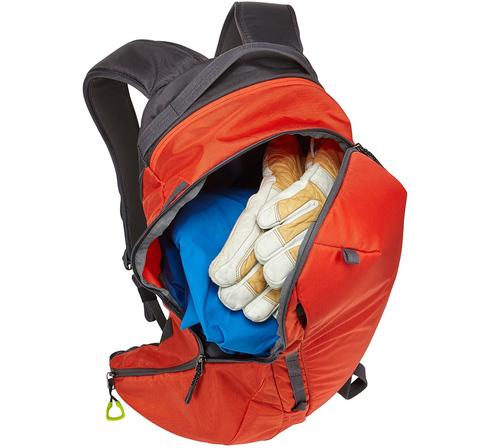 Картинка рюкзак горнолыжный Thule Upslope 35L Оранжевый - 4