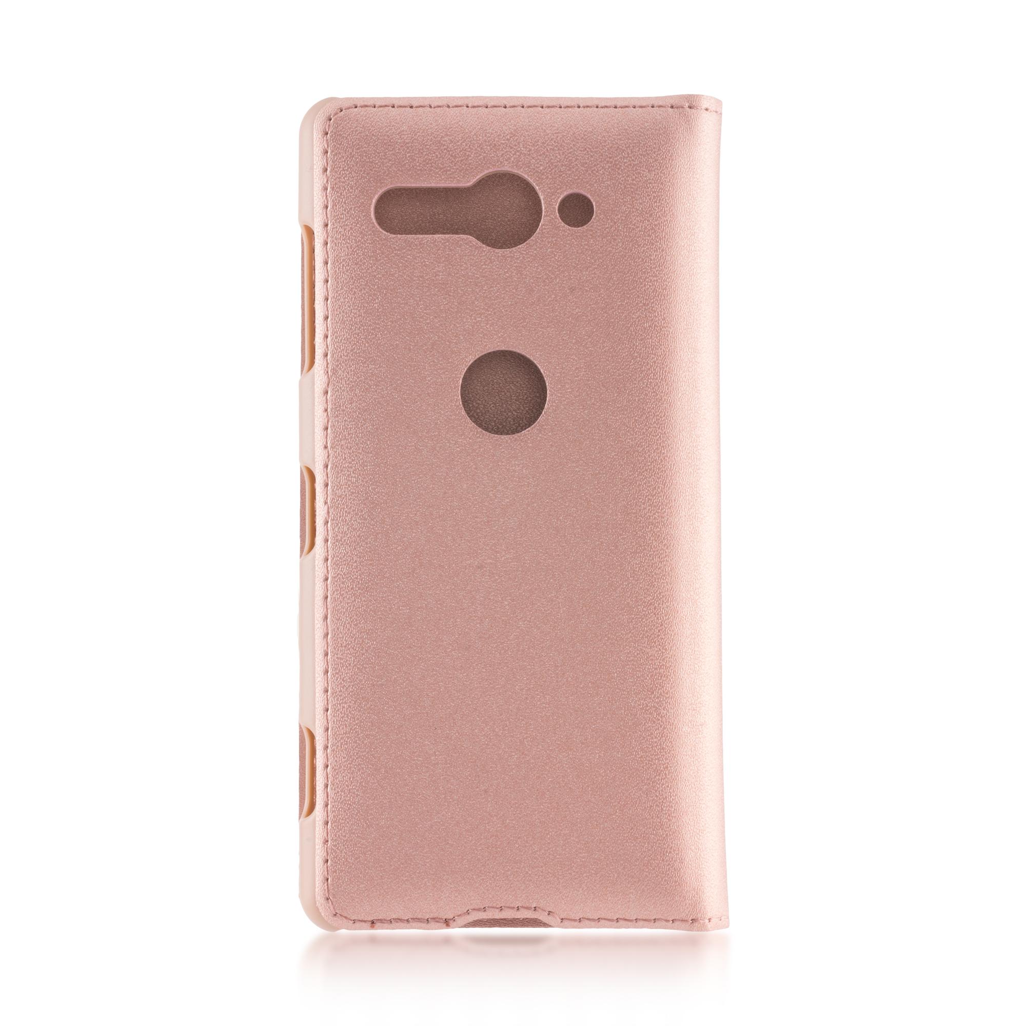 Чехол-книжка розового цвета для Xperia XZ2 Compact