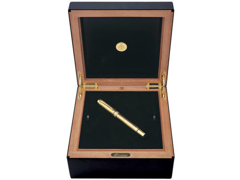 Перьевая ручка Parker Duofold Esparto F103 Solid Gold123