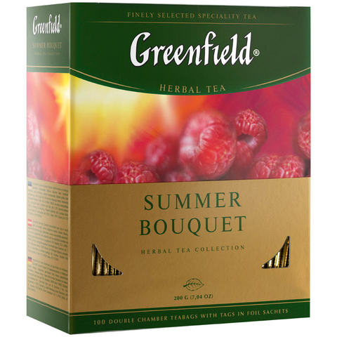Чай травяной «Greenfield» Summer bouquet 100*2г