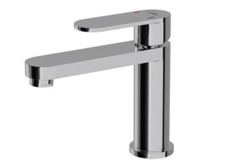 Смеситель для умывальника ELIO с металлическим донным клапаном S951-147
