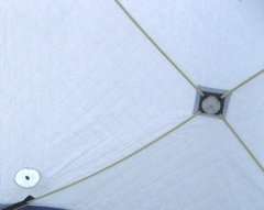 Зимняя палатка куб Следопыт Эконом 1,8*1,8 м PF-TW-07 трехслойная