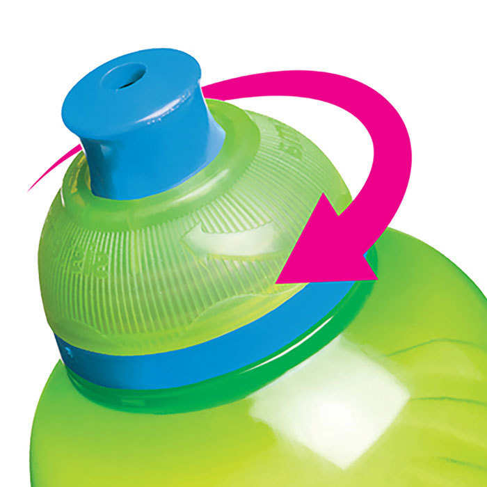 """Бутылка для воды Sistema """"Hydrate"""" 460 мл, цвет Фиолетовый"""
