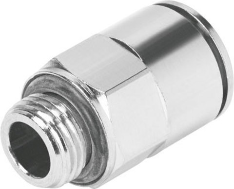 Штуцер цанговый Festo NPQM-D-G18-Q8-P10 (комплект 10 шт)