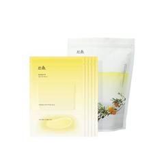 Тканевая маска Hanyul Yuja Oil Sheet Mask 5ea