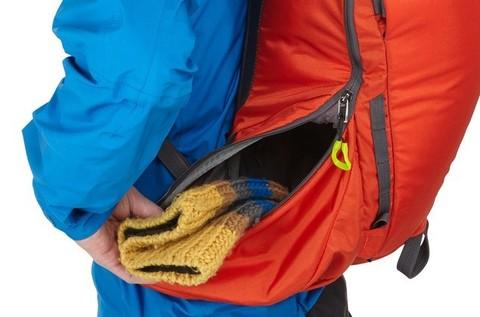 Картинка рюкзак горнолыжный Thule Upslope 35L Оранжевый - 5