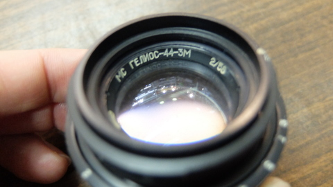 Объектив Гелиос 44-3 58 mm f/ 2.0 МС