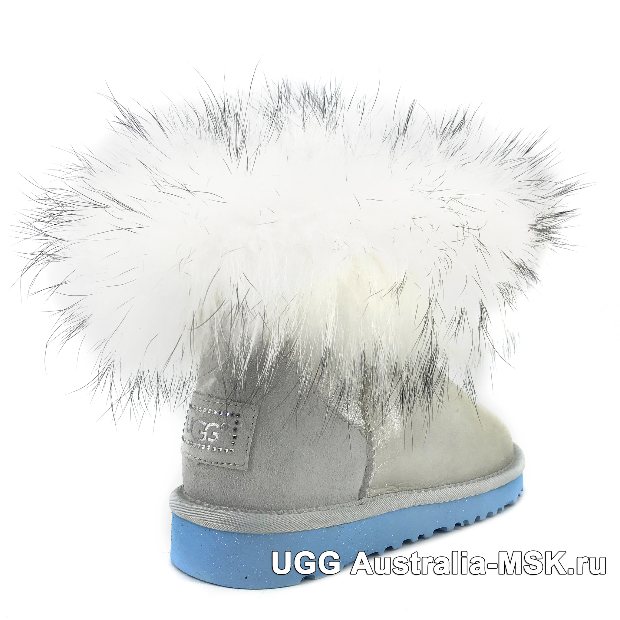 UGG Fox Fur Mini Metallic I Do