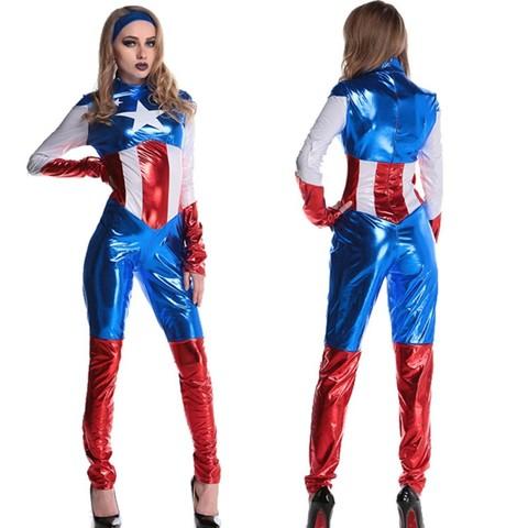 Капитан Америка костюм женский — Captain America Women's Costumes