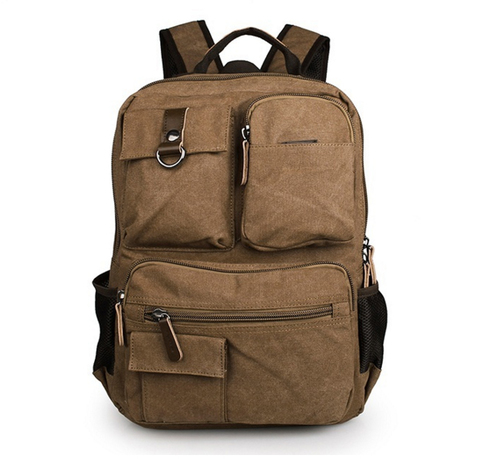 Рюкзак из ткани Discovery Brown