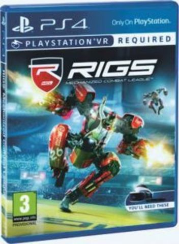 RIGS: Mechanized Combat League (PS4, только для VR, русская версия)