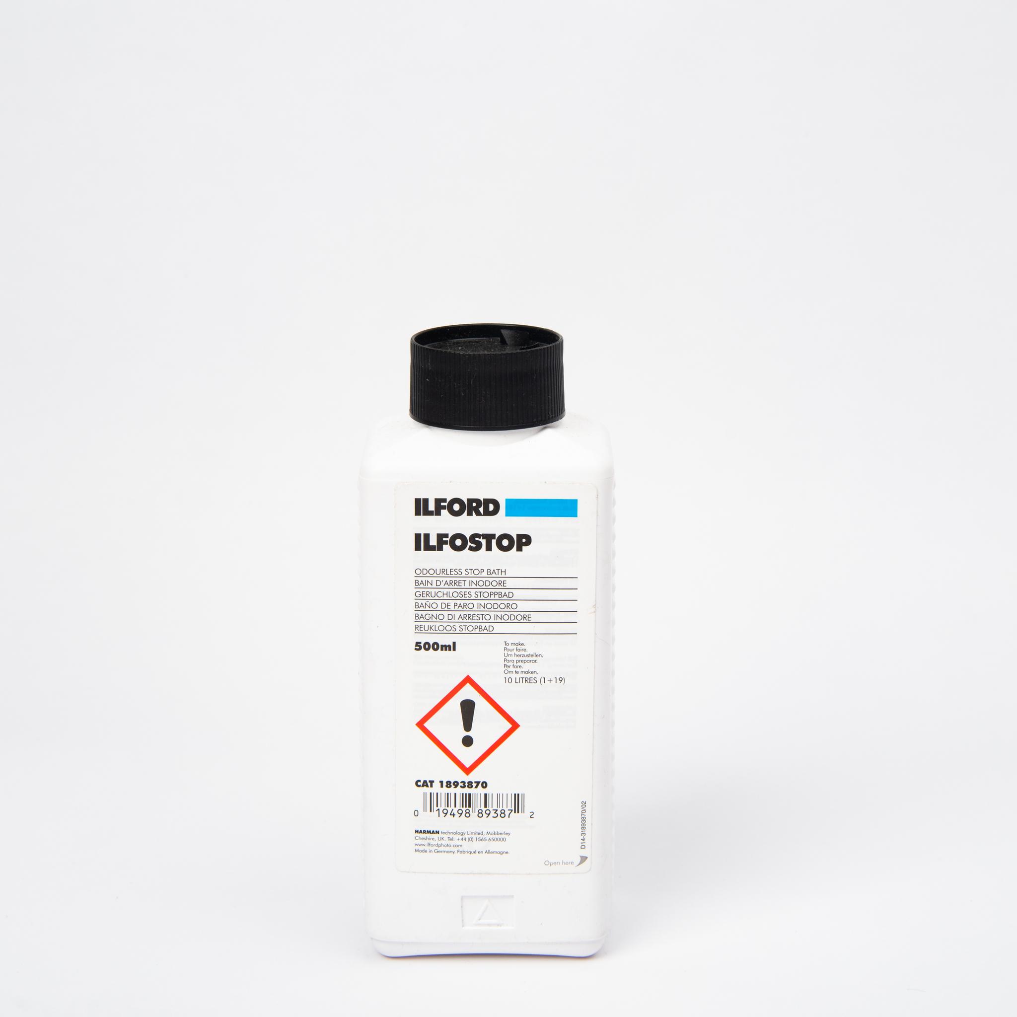 Стоп-ванна Ilford Ilfostop 500 ml. концентрат