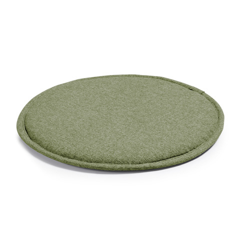 Подушка Stick круглая зеленая