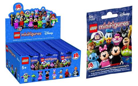 LEGO Minifigures: Минифигурки LEGO из серии Disney 71012 — Disney Minifigure Random Bag — Лего Минифигурки