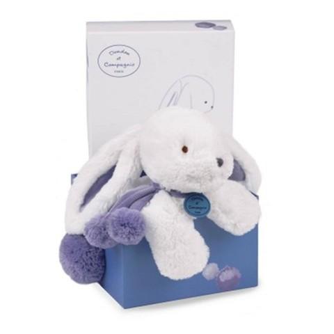 Doudou et Compagnie. Pompon MM rabbit lavander 35cm