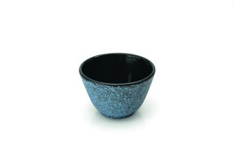 Чугунная пиала 2х синяя
