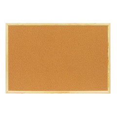 Доска пробковая Attache Economy 60х90 см деревянная рама